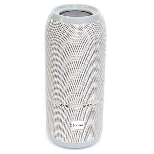 Atom Portable Bluetooth Speaker (available in grey or black)