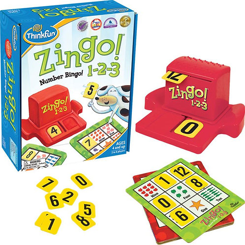 Zingo!® 1-2-3 Numbers Bingo