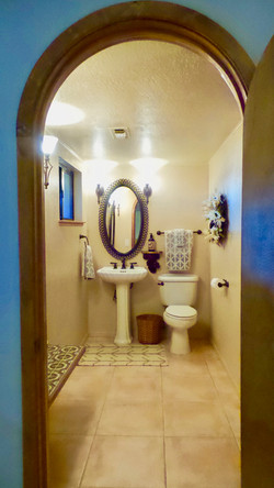 Downstairs bathroom (plus shower)