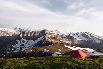 camping mountian