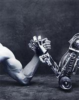 Man versus machine, a robot