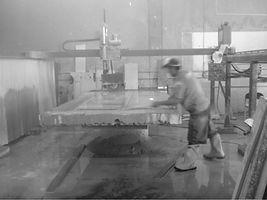 Granite shop dust hard to breathe