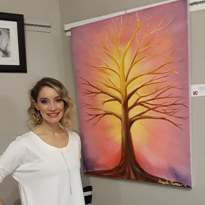 Artist Agela Renée