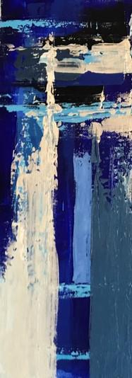 Crystal Bond: Blue Abstract 2