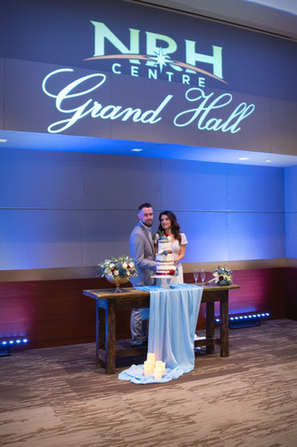 Your day. A lifetime of happy memories. All at the Grand Hall at NRH Centre.