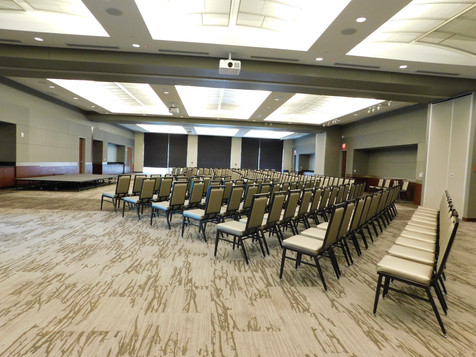 Grand Hall Business seminar with theatre seating