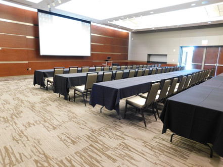 Grand Hall Business meeting with classroom seating