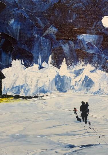 Crystal Bond: Icy Walk Home