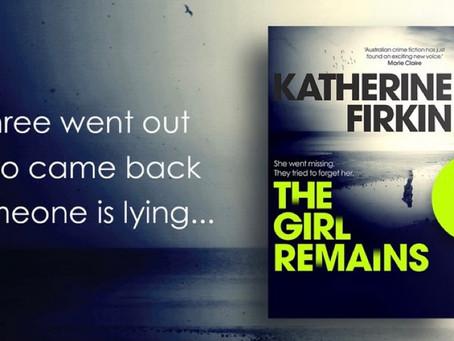 Katherine Firkin on writing The Girl Remains