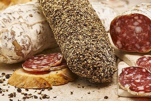 Saucisson pur porc au vin de bordeau 200g