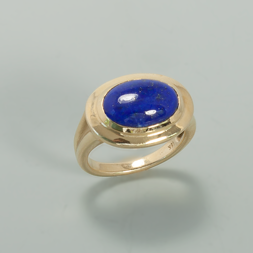 Lapis & Gold Ring