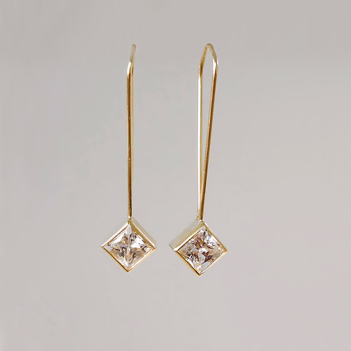 "CZ ""Hanging Earrings"""