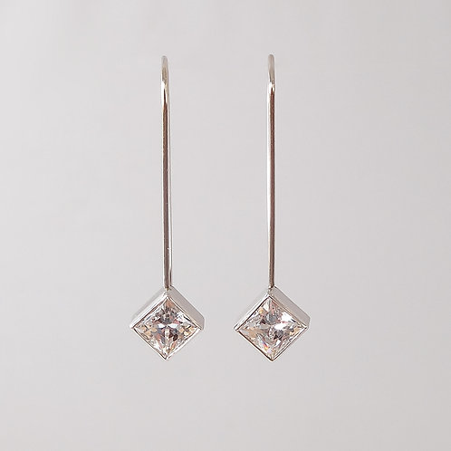 "CZ ""Hanging Earrings"""