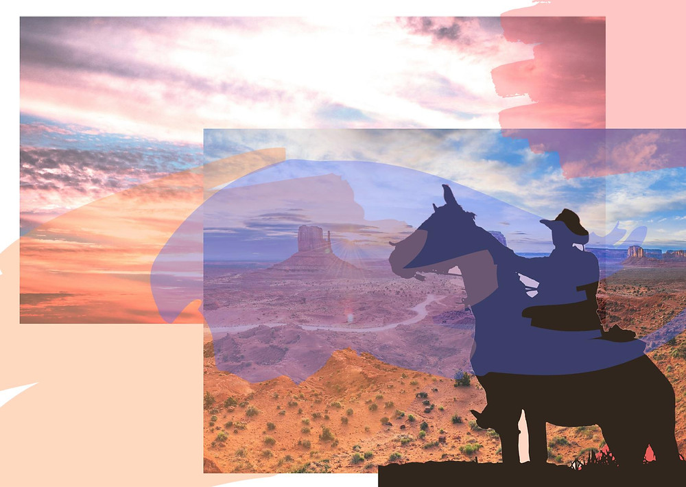 western couleurs liberté, telle est l'analyse de Myriam Vijaya