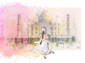 Once upon a time Akbar the Great drove prosperity to his empire through art experience...