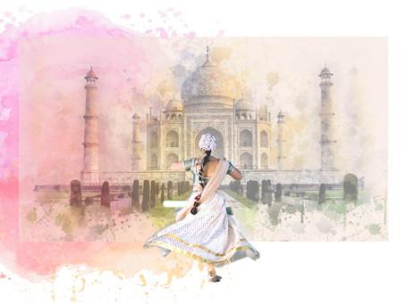 Il était une fois le grand roi Akbar qui faisait prospérer son empire par la tolérance et les arts..