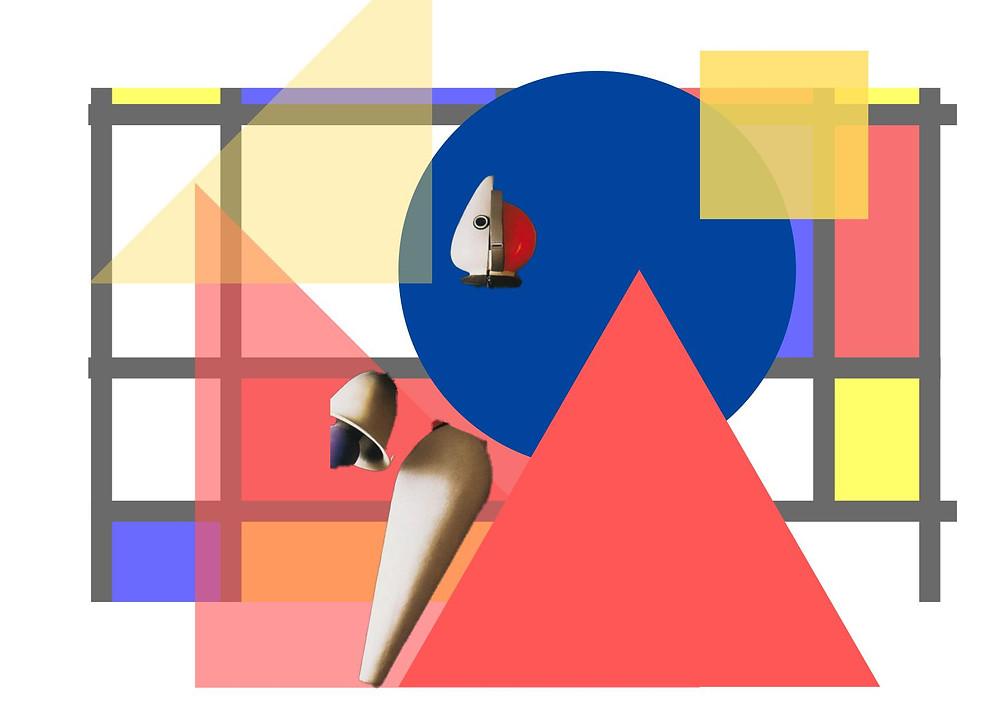 Oskar Schlemmer et ses ballets géométriques s'invitent dans le blog de Myriam VIJAYA