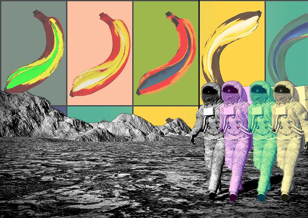 Pop Art musée sur la Lune 1969