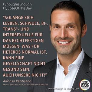 Statement zur Homophobie