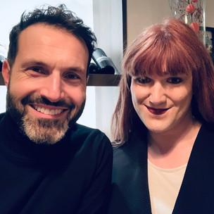 Mit meiner Co-Landesvorsitzende der SPDqueer Berlin, Mara Geri