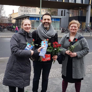 Frauentag in Pankow