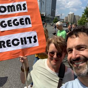 Unteilbar Demo in Berlin
