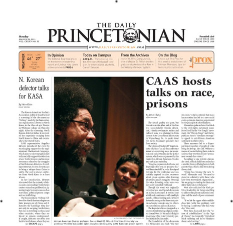 Center for African American Studies hosts talks on race & prisons with Cornell West