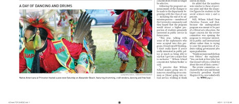Native Americans at Princeton host powwow