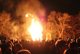 Princeton Bonfire
