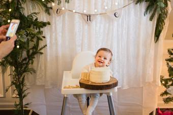 Avonlea's 1st Birthday Party
