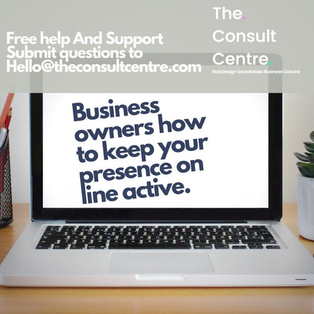 Business owners how to keep your presence on line active