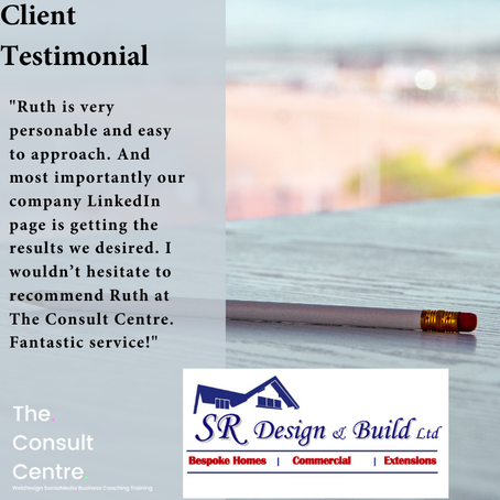 Great feedback from SR Design & Build