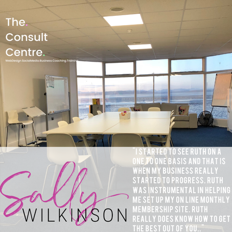 Such kind words in this testimonial from Sally Wilkinson.
