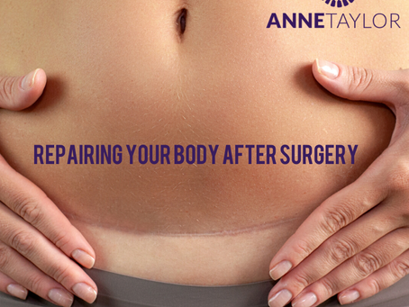 Repairing your body after surgery.