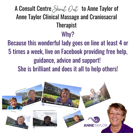 A shout out to Anne Taylor