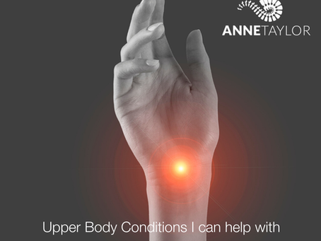 Upper Body Conditions I can help with.