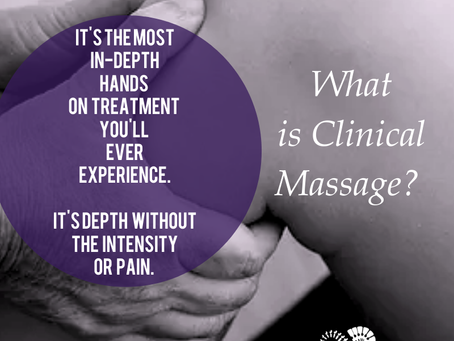 It's the most in-depth hands-on treatment you'll ever experience.