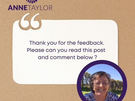 Thank you for all your feedback!