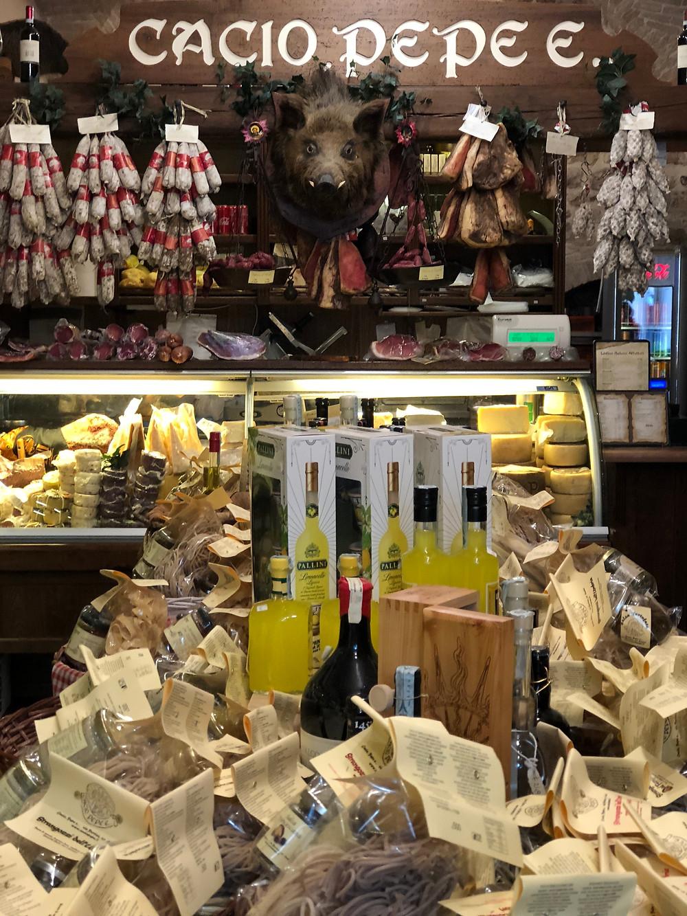 Umbrian delicacies