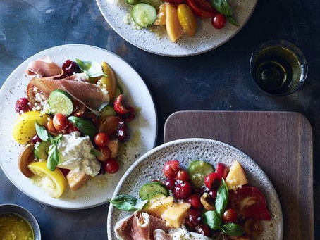 The perfect salad for the dog days of summer