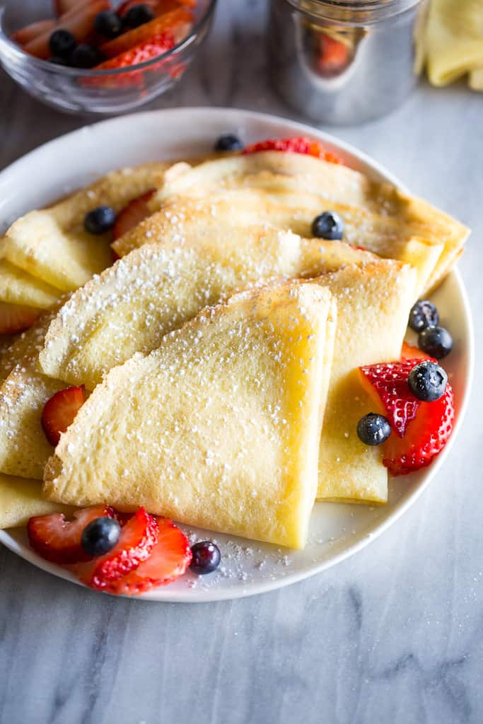 Crepes Sucrees