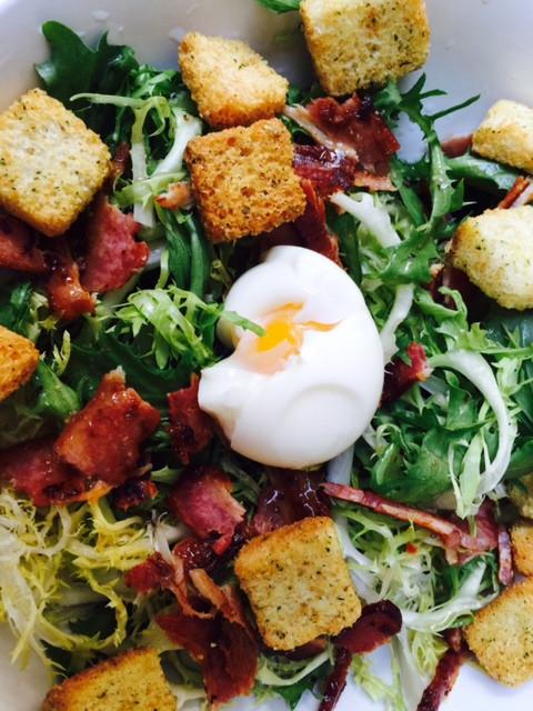 Gout et Voyage Frisee Salad