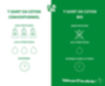 Coton bio vs Coton conventionnel pour Ul