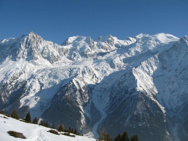 Massif du Montblanc