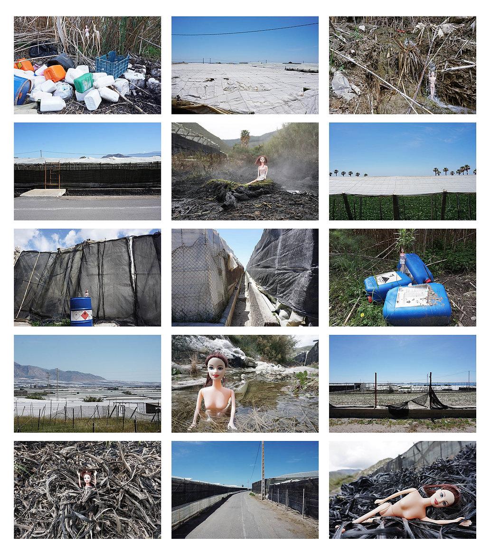 Série photo BARBIE REPORTER by BIG
