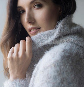 Memoi, Cozy Hooded Sweater
