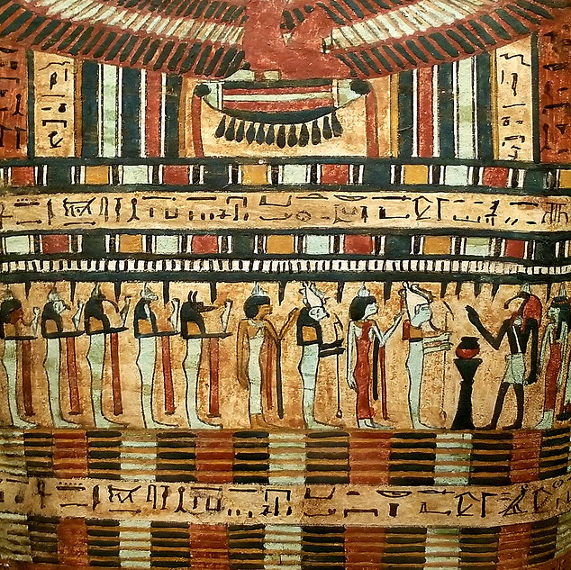 An ancient Egypt exhibition at the Met.