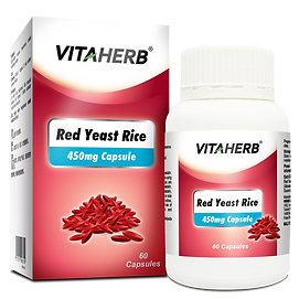 VITAHERB Red Yeast Rice 450mg Capsule -