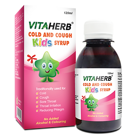VITAHERB COLD AND COUGH KIDS SYRUP - 120