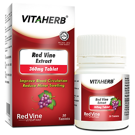 VITAHERB Red Vine Extract 360mg Tablet -
